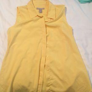 Banana Republic Sleeveless dress shirt